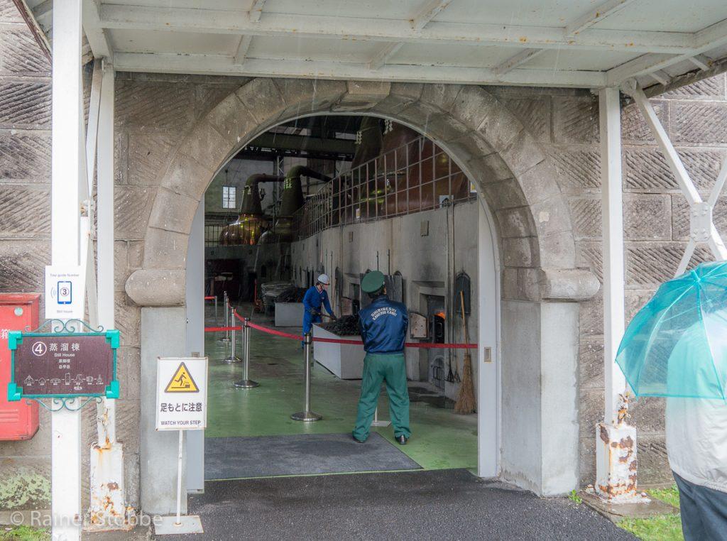 Eingang zur Destille